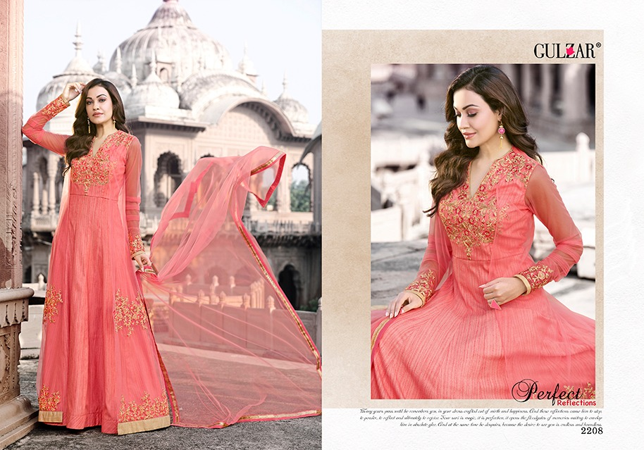 Gulzar Suits Collection 2208
