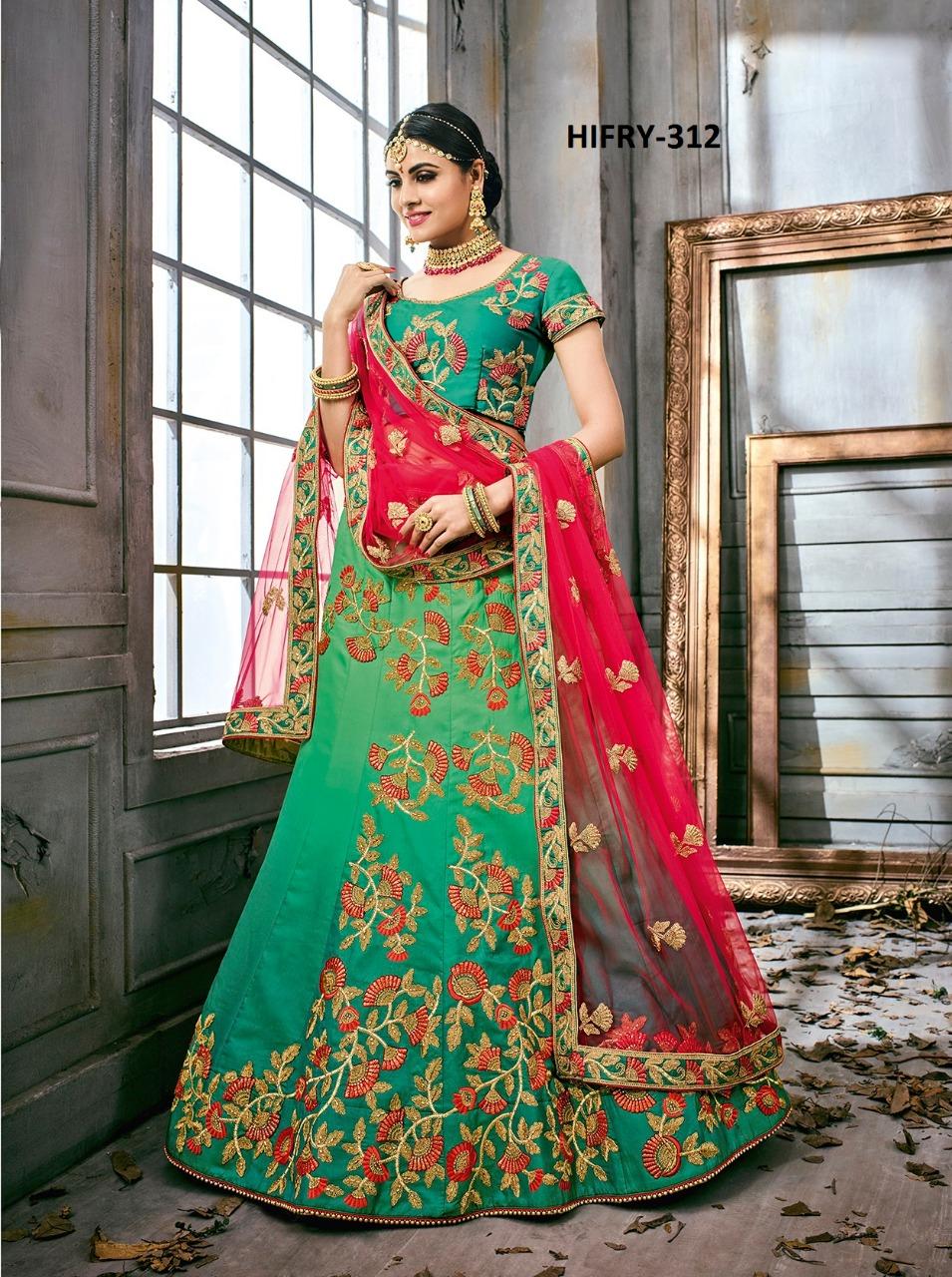 Hitansh Fashion Fairy Designer Lehenga H 312