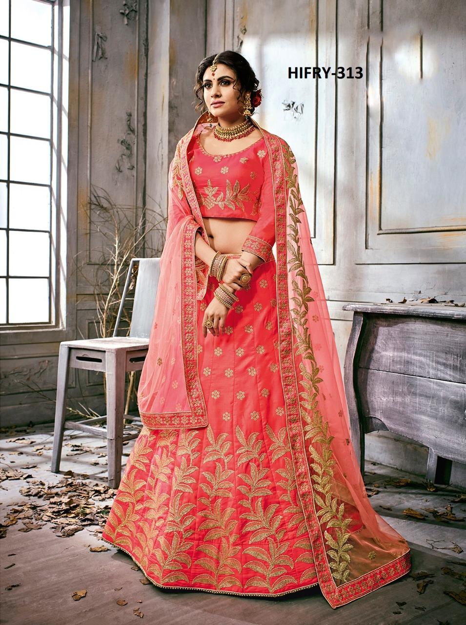 Hitansh Fashion Fairy Designer Lehenga H 313