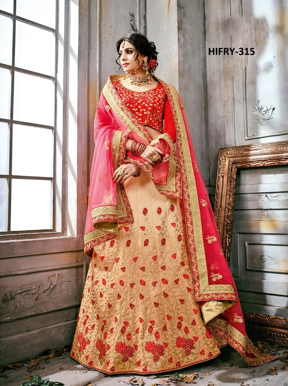 Hitansh Fashion Fairy Designer Lehenga H 315