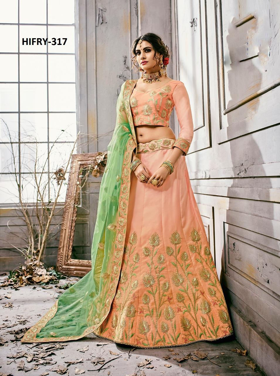 Hitansh Fashion Fairy Designer Lehenga H 317