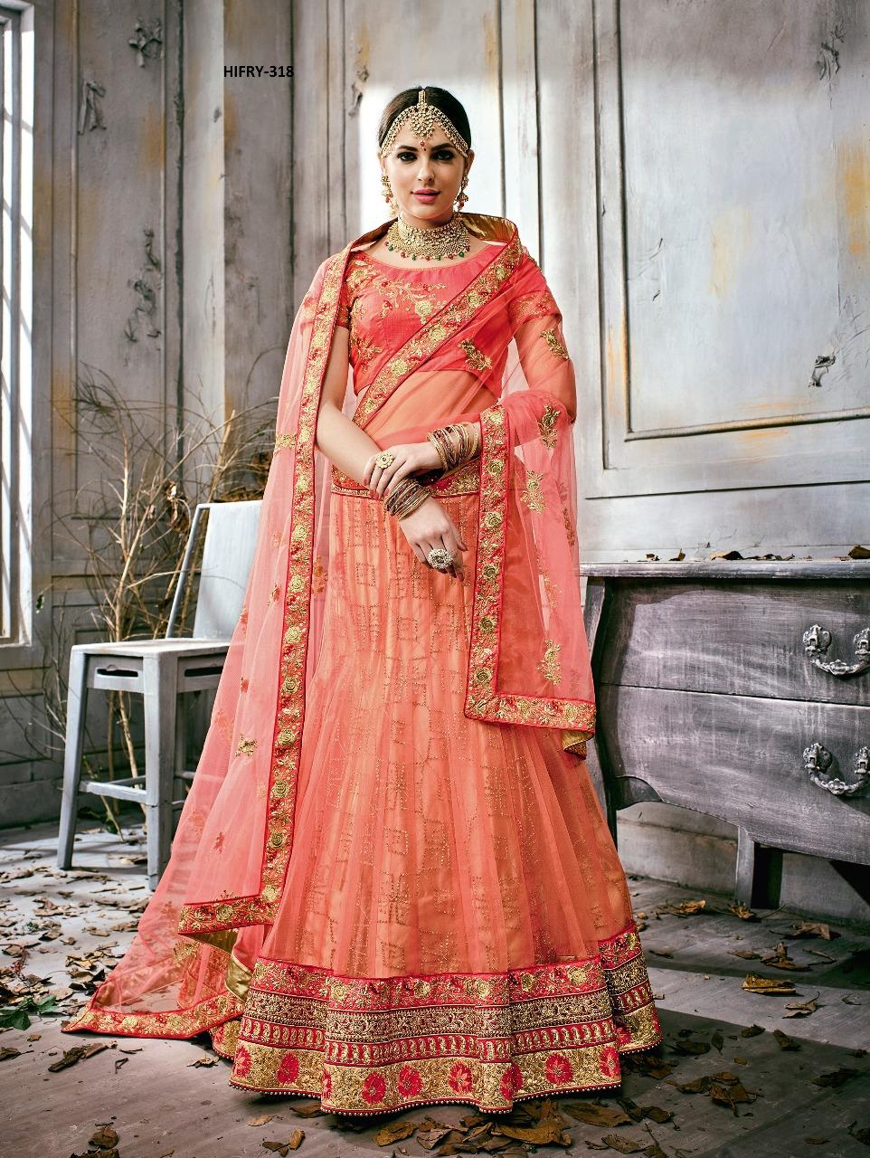 Hitansh Fashion Fairy Designer Lehenga H 318