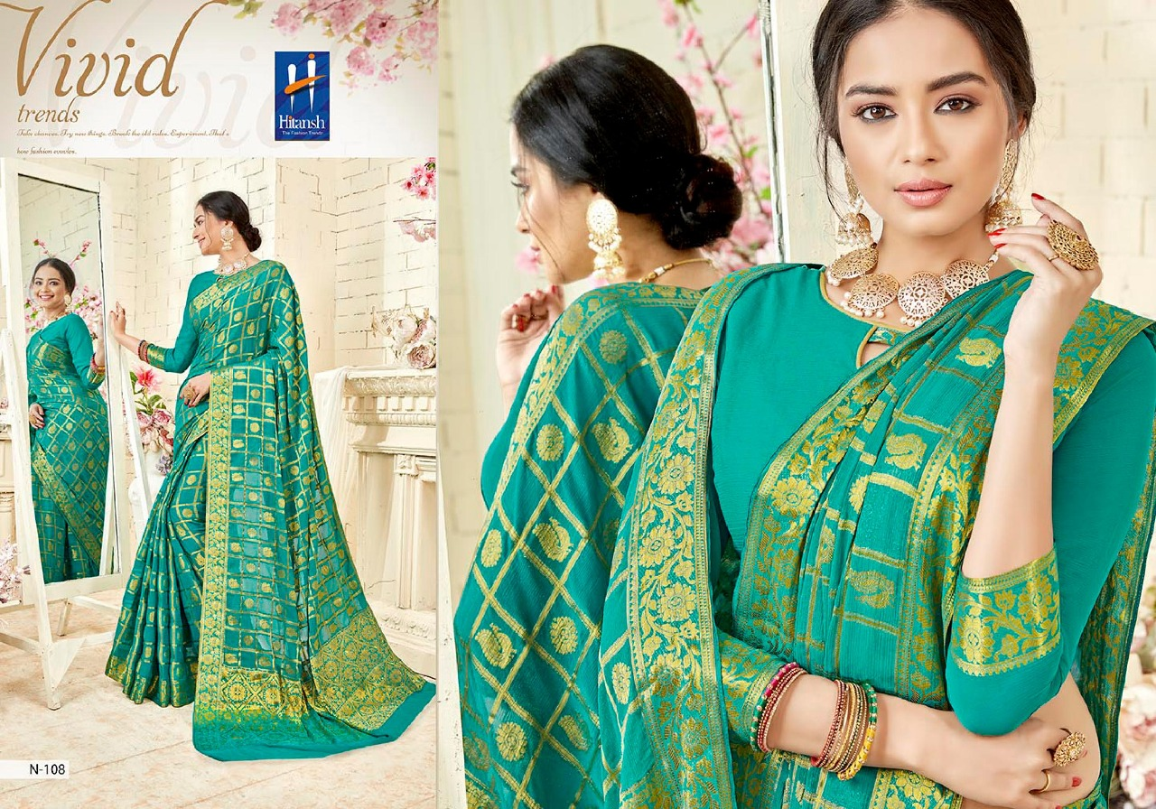 Hitansh Fashion Lavanyam 108