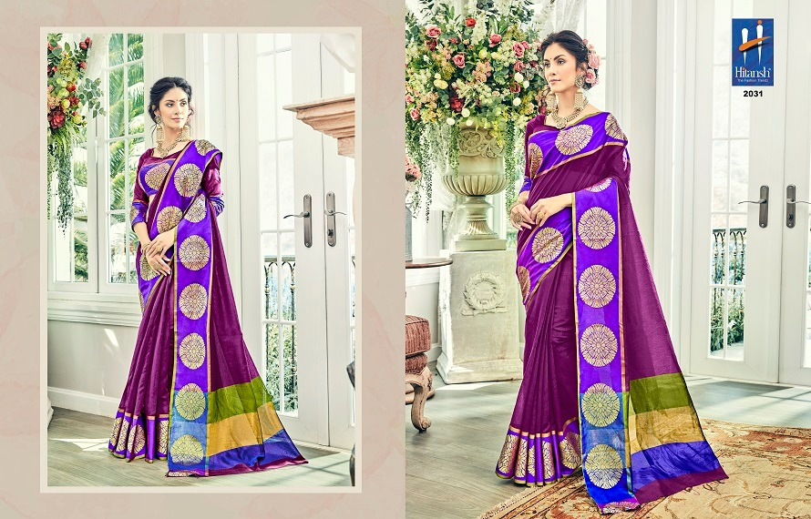Hitansh Fashion Silk Touch 2031
