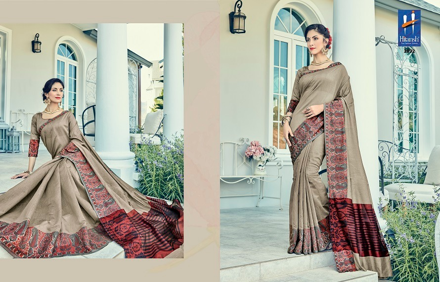 Hitansh Fashion Silk Touch 2032