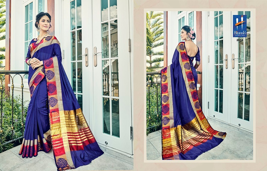 Hitansh Fashion Silk Touch 2034