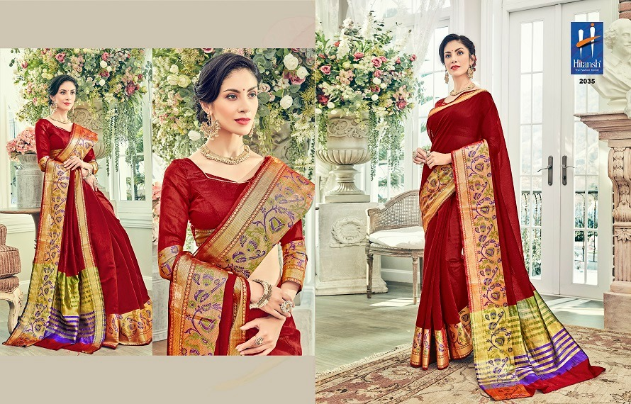 Hitansh Fashion Silk Touch 2035