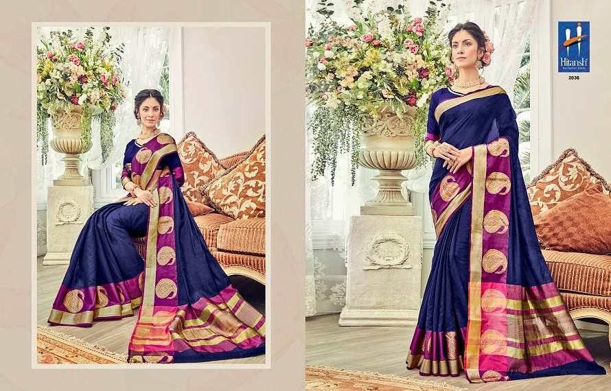 Hitansh Fashion Silk Touch 2036