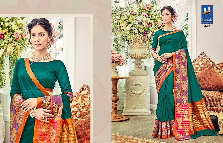 Hitansh Fashion Silk Touch 2037