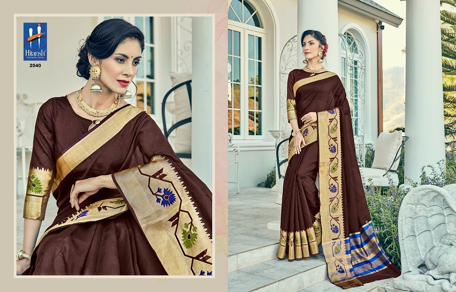 Hitansh Fashion Silk Touch 2040