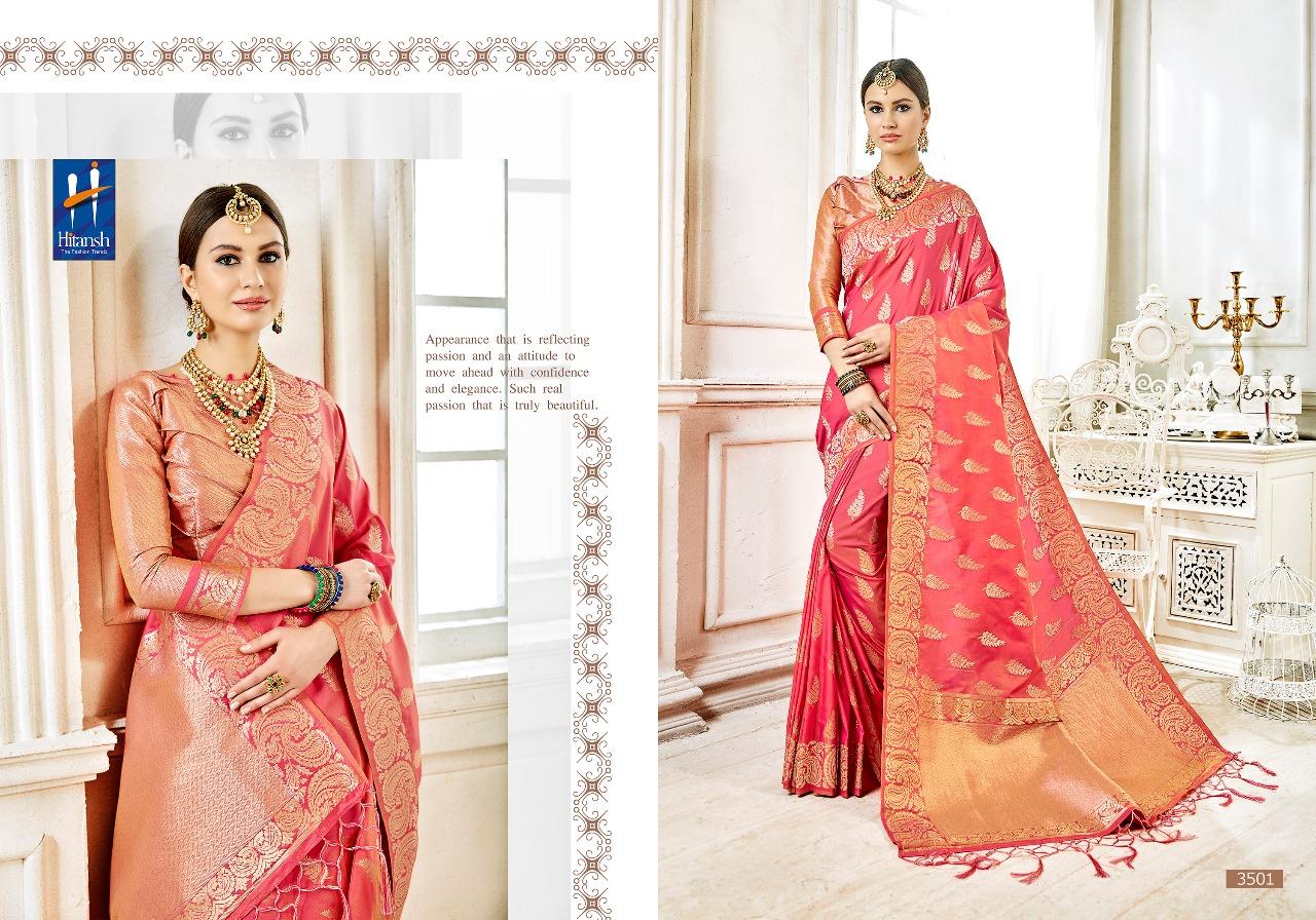 Hitansh Fashion Cora Silk 3501