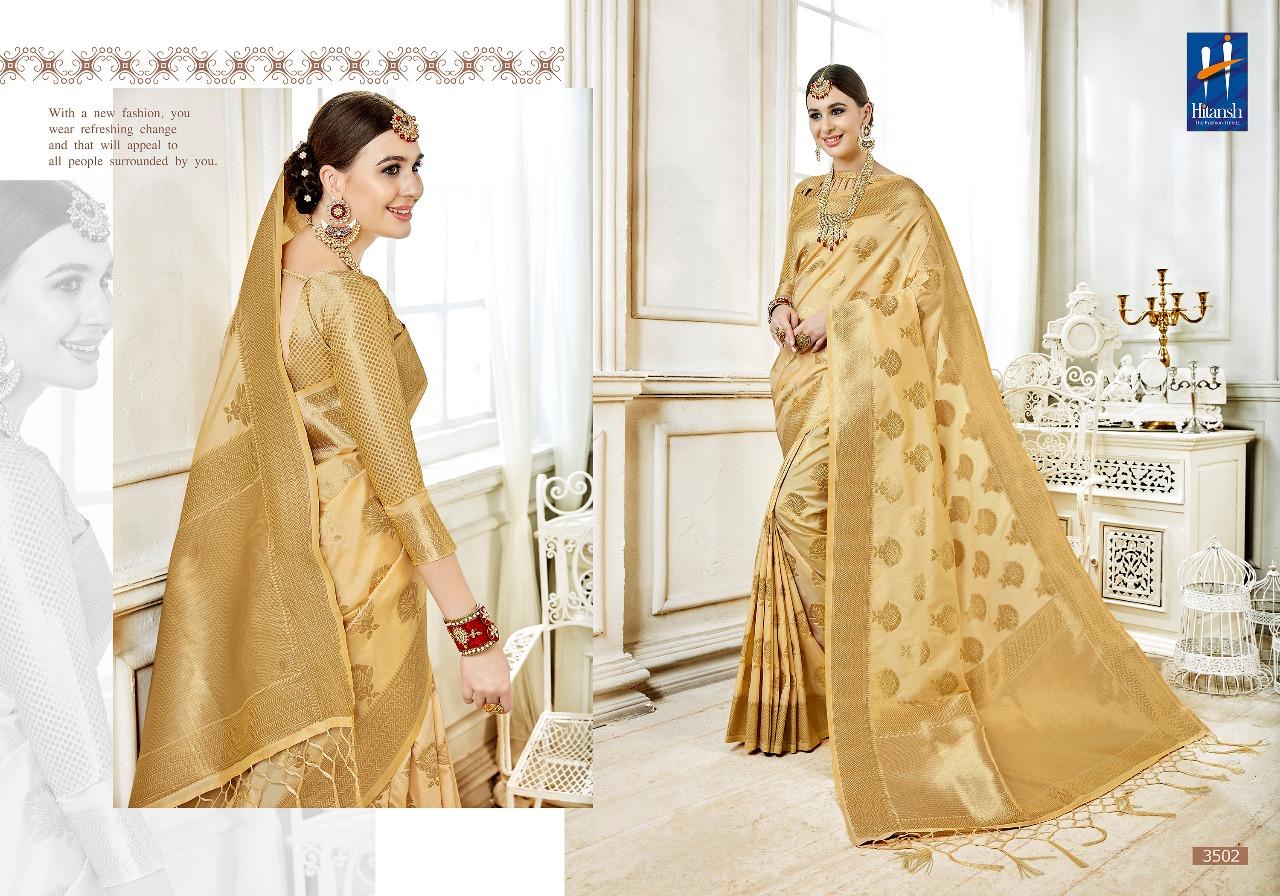 Hitansh Fashion Cora Silk 3502