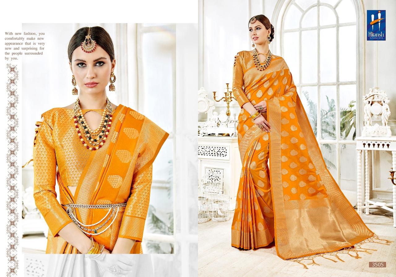 Hitansh Fashion Cora Silk 3505