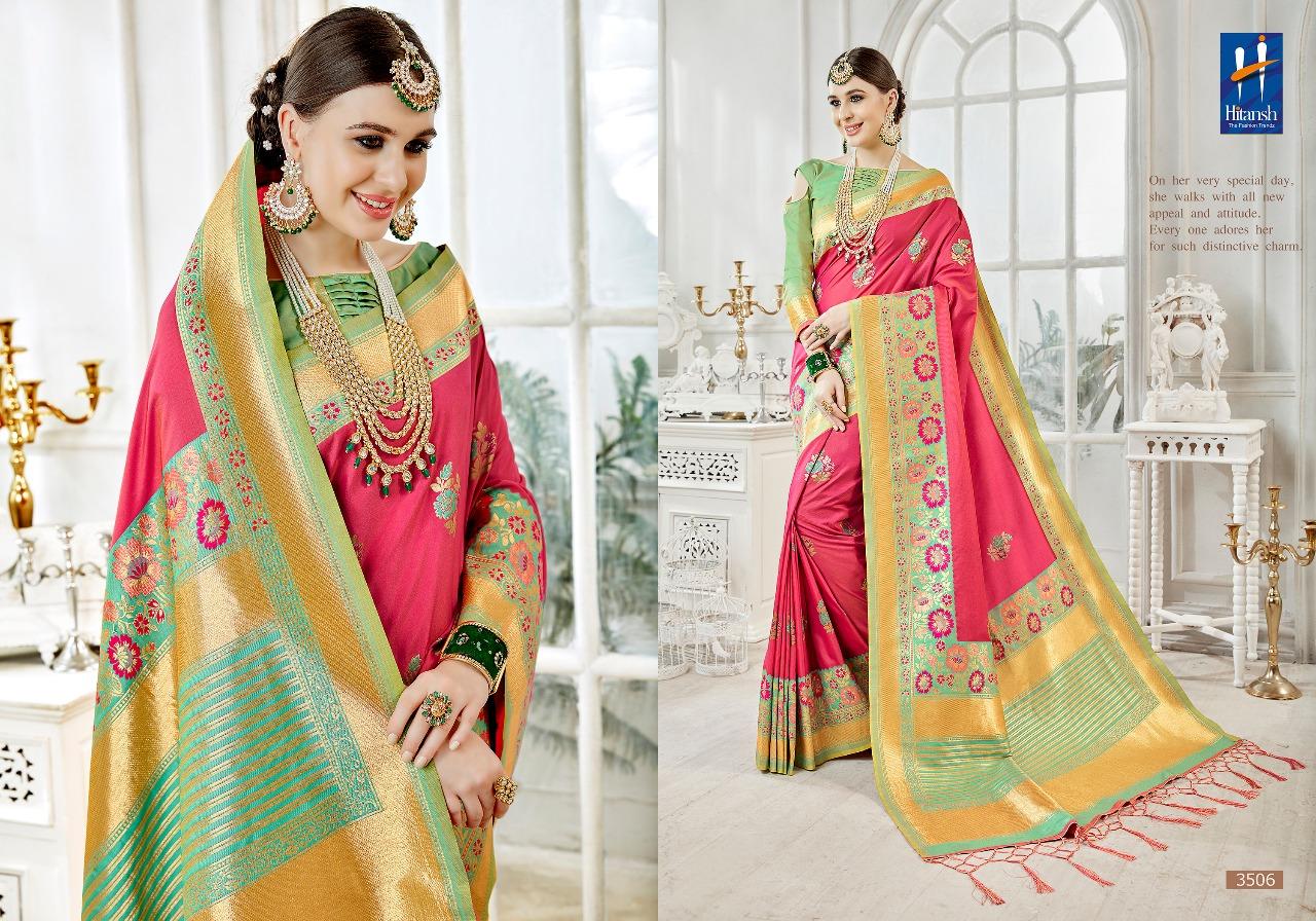 Hitansh Fashion Cora Silk 3506