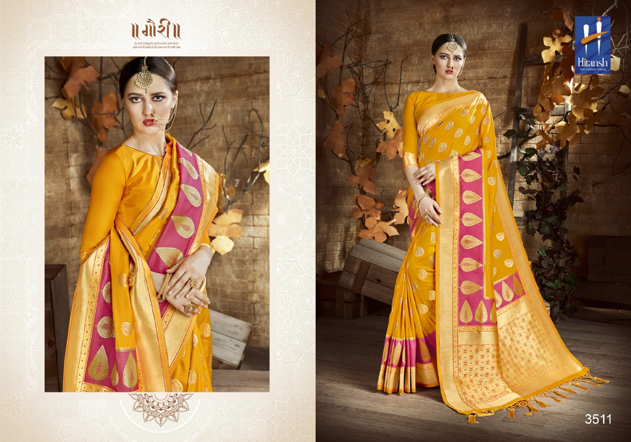 Hitansh Fashion Cora Silk 3511