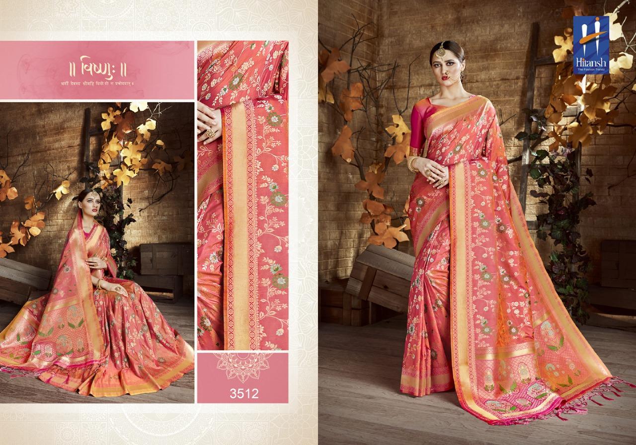 Hitansh Fashion Cora Silk 3512