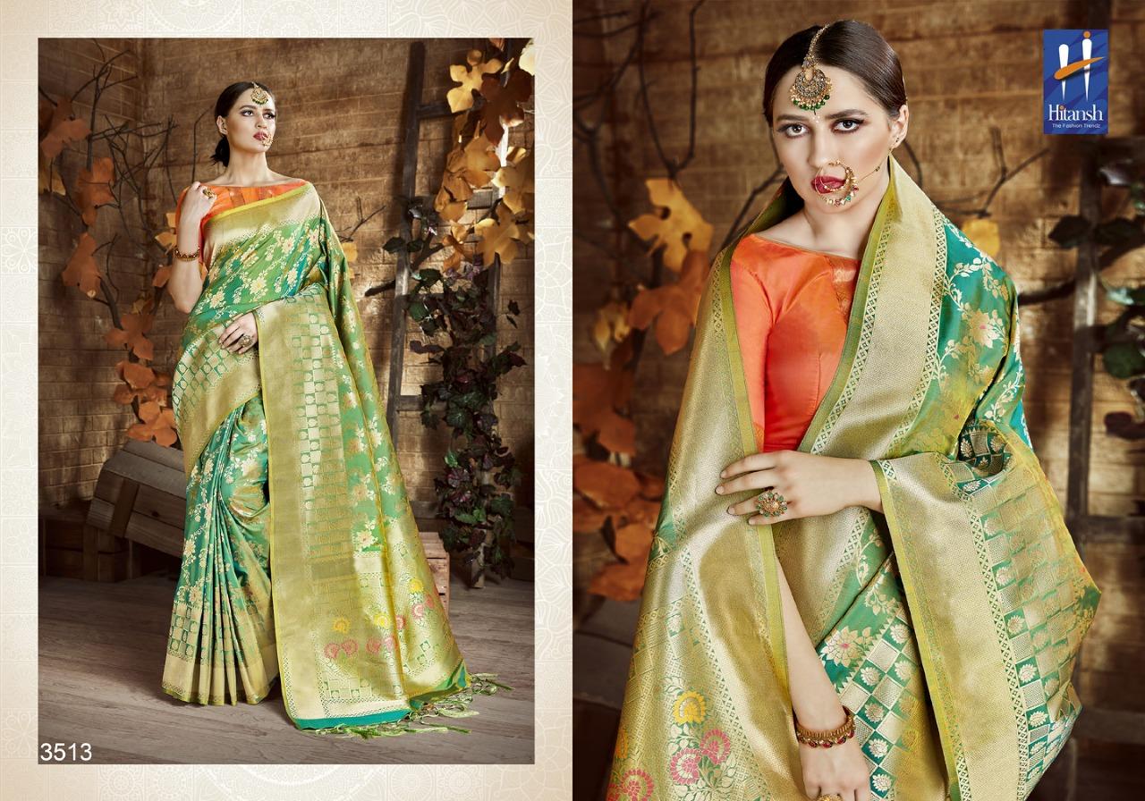 Hitansh Fashion Cora Silk 3513