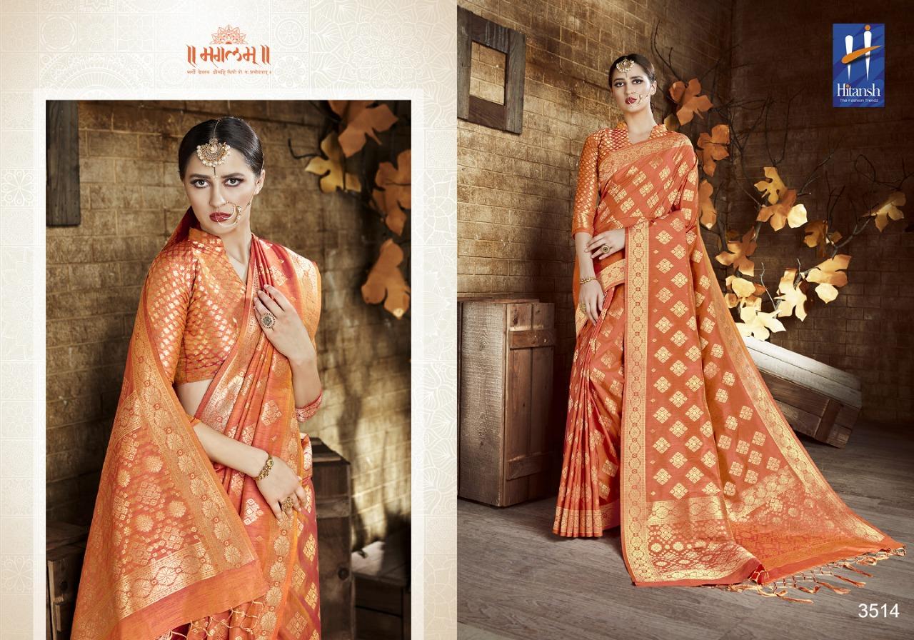 Hitansh Fashion Cora Silk 3514