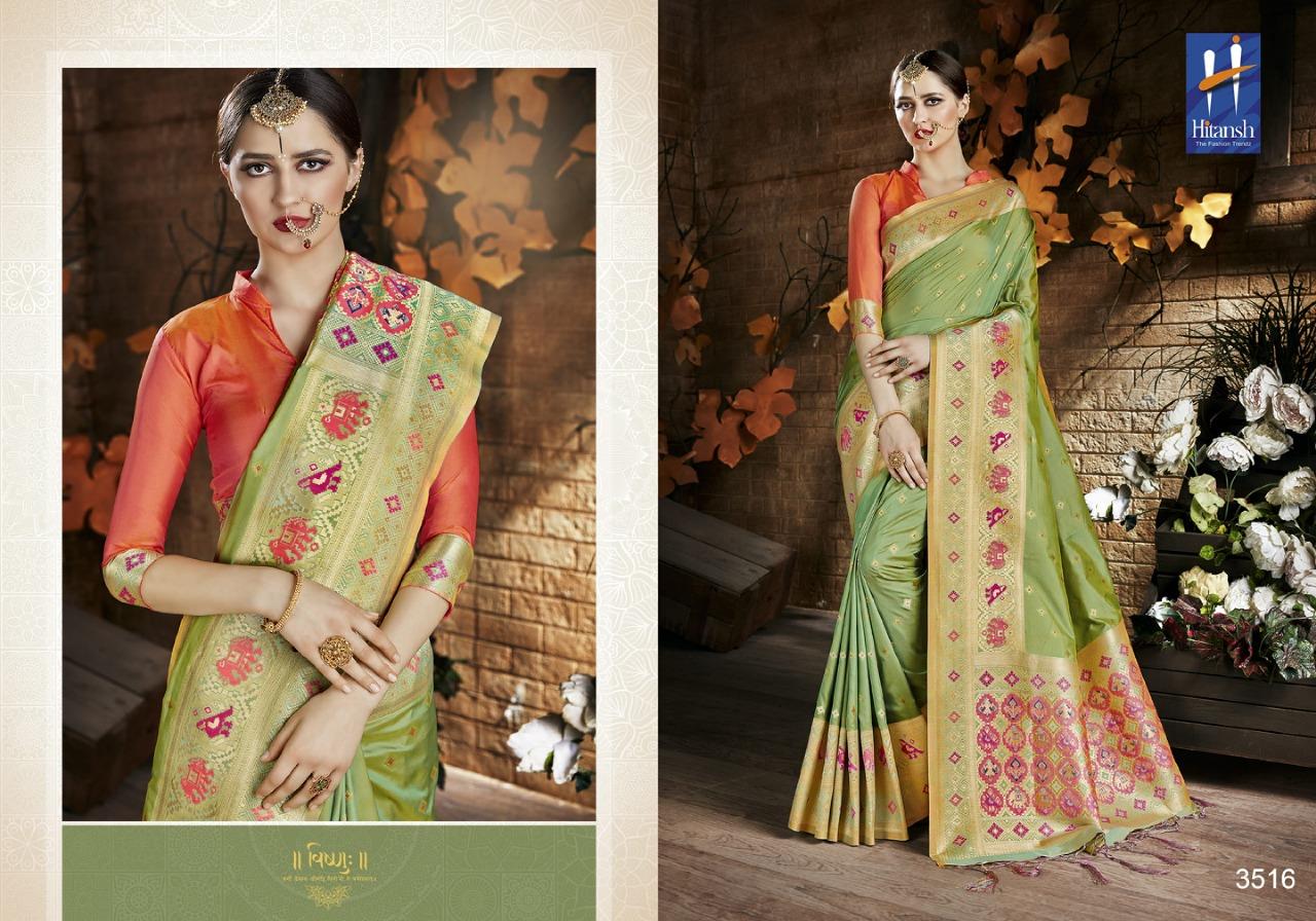 Hitansh Fashion Cora Silk 3516