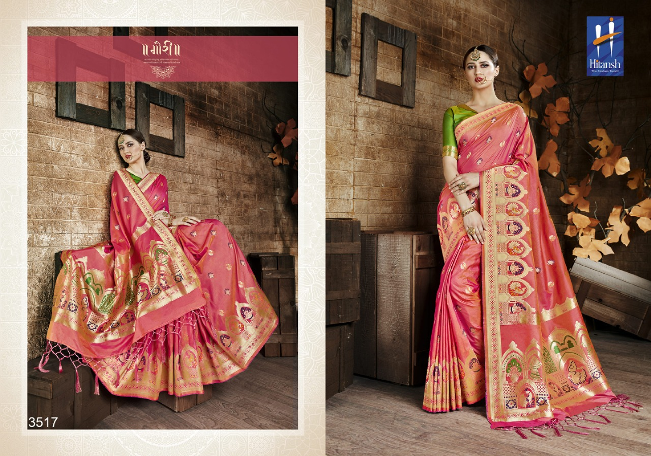 Hitansh Fashion Cora Silk 3517