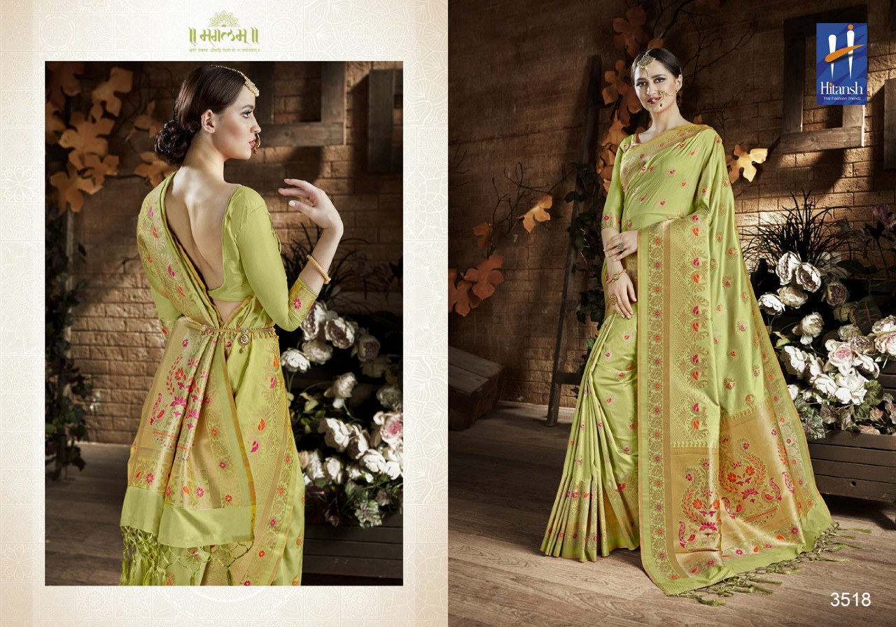 Hitansh Fashion Cora Silk 3518