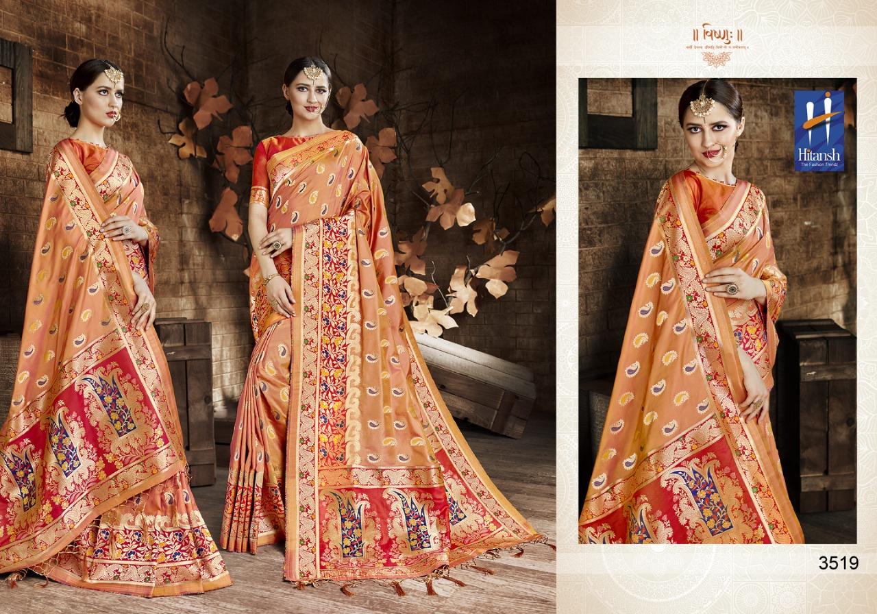Hitansh Fashion Cora Silk 3519