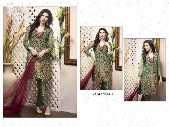Fepic Sanober 068 A Green Salwar Kameez