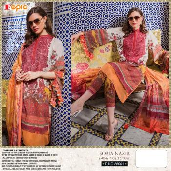 Fepic Rosemeen Sobia Nazir Lawn Collection 86001-86005 Series