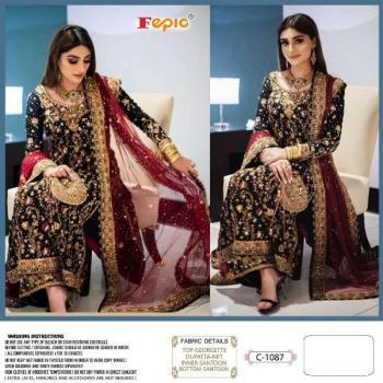 Fepic Rosemeen C-1087 Pakistani Salwar Suits