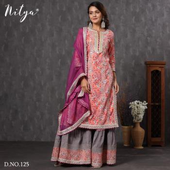 Lt Fabrics Nitya Kurtis 125-127 Design