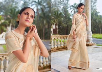 LT Fabrics Saree Aroma 2200-2204 Series