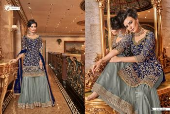 Swagat Violet Snow White 6311 Colors Sharara Suits