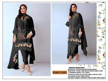 Fepic Rosemeen C-1021 Black Salwar Suits