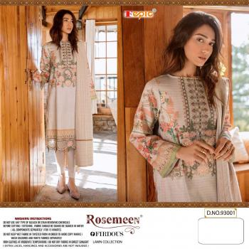 Fepic Rosemeen Firdous Lawn Collection 93001-93006 Series