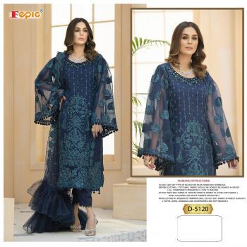 Fepic Rosemeen 5120 Designer Blue Dress