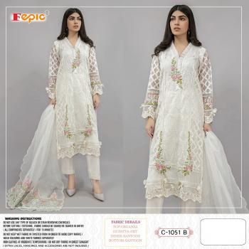 Fepic Rosemeen C-1051 B Designer Salwar Kameez