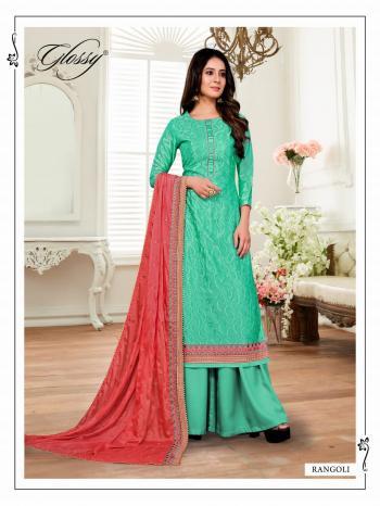 Glossy Rangoli Colors