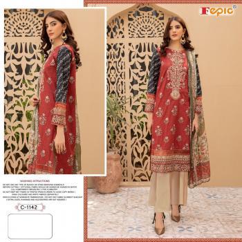 Fepic Rosemeen C-1142 Dress Material