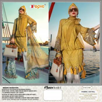 Fepic Rosemeen Maria B Lawn Vol-1 2106-2108 Series