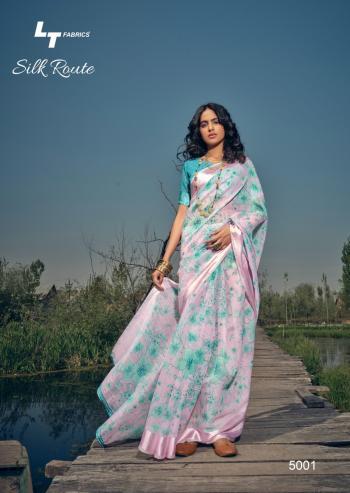 Lt Fabrics Silk Route 5001-5010 Series