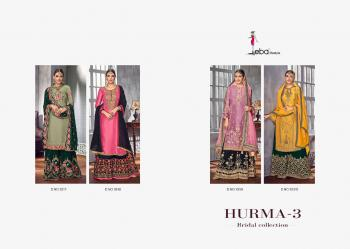 Eba Lifestyle Hurma Vol-3 Bridal Collection 1017-1020 Series