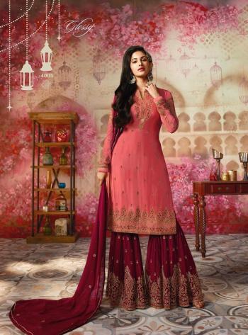 Glossy Simar Amyra Sharara Collection 4005-4012 Series