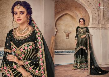 Eba Lifestyle Black Berry Vol1 7001 Colors Suits
