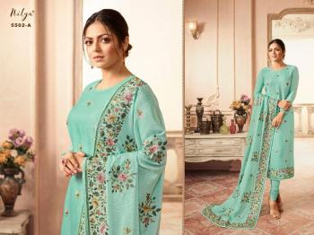 Lt Fabrics Nitya Boutique Collection 5502 Colors