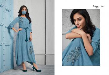LT Fabrics Nitya Samaira 101-108 Series