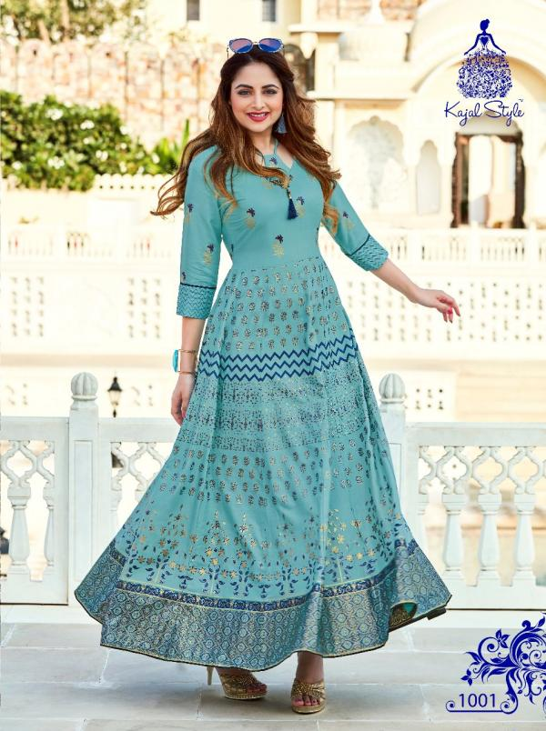 Kajal Style Fashion Color Bar Vol-1 1001-1008 Series