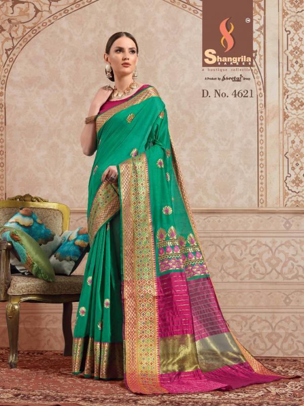 Shangrila Saree Namrata Cotton 4621-4632 Series