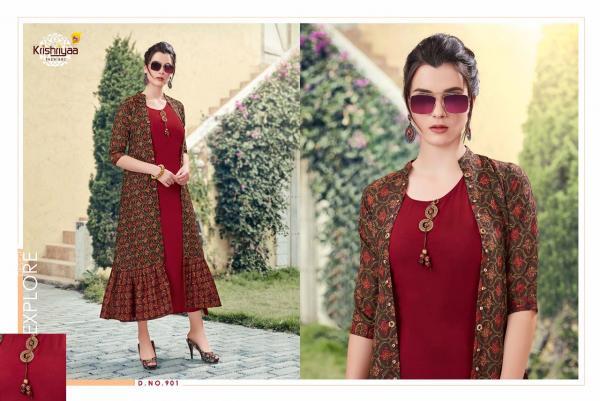 Krishriyaa Fashions Teasel 901-908 Series
