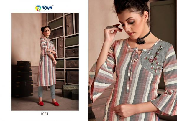 Riya Designer Stripes 1001-1004 Series