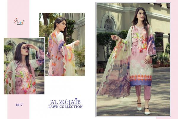 Shree Fabs Al Zohaib Lawn Collection 1617-1624 Series